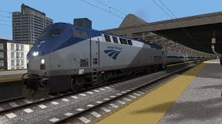 Train Simulator 2014 HD EXCLUSIVE: Amtrak GE Genesis P42DC HEP Version Physics Mod Release