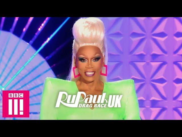 Exclusive Look At RuPauls First Runway: RuPauls Drag Race UK