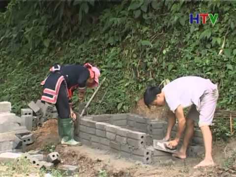 CM Xay dung nt moi xa Thong nguyen xay dung lo dot rac