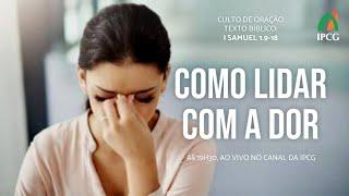CULTO DE ORAÇÃO - 15/09/2020