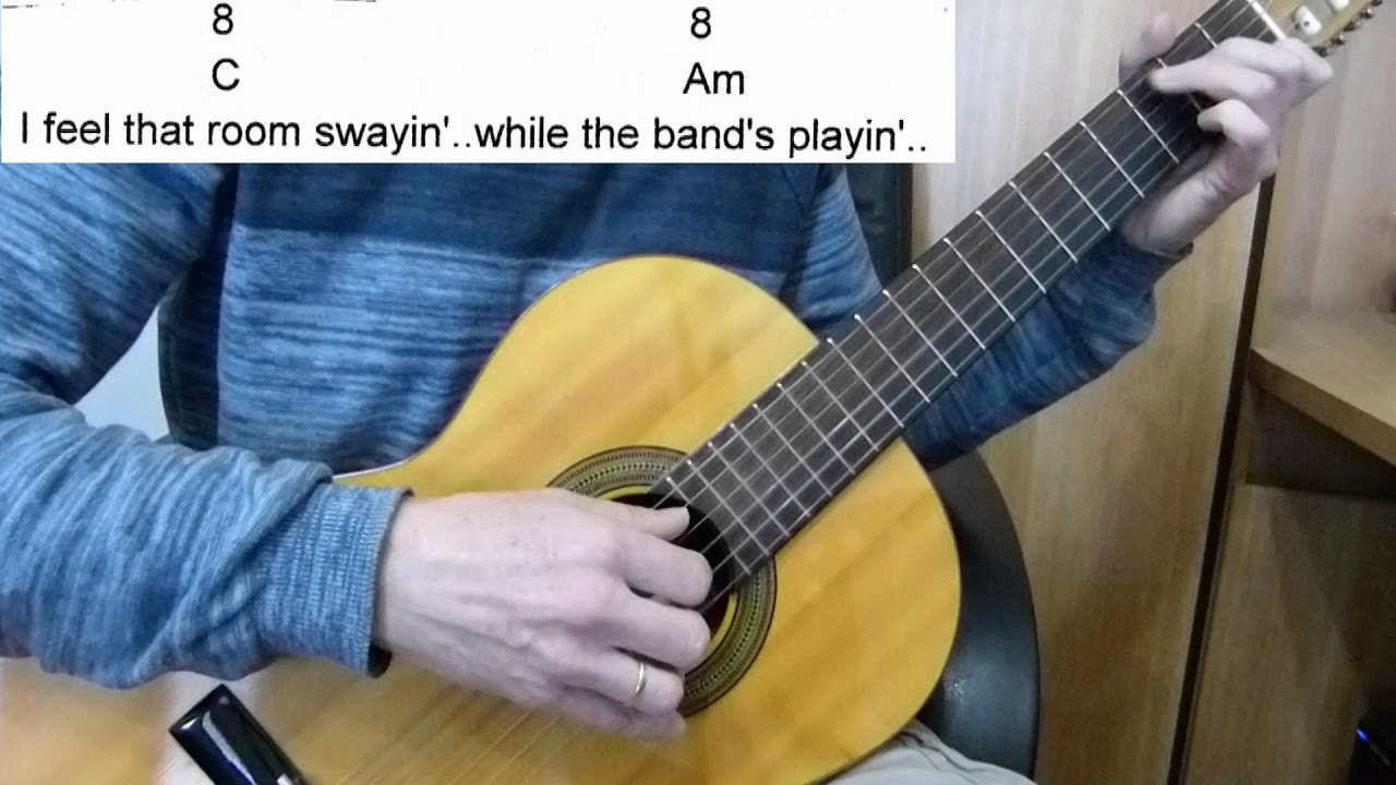Guitar Accompaniment Hello Dolly Louis Armstrong Including