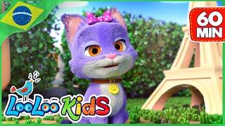 Meu gatinho - Música Para Crianças - LooLoo Kids Português