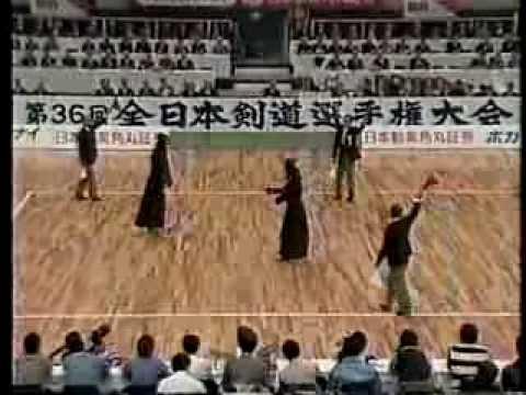 第36回 (1988) 全日本剣道選手権大会【準々決勝】西川(東京) Vs 武藤(福島)