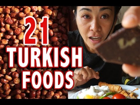 TOP 21 TURKISH FOODS | TURKEY