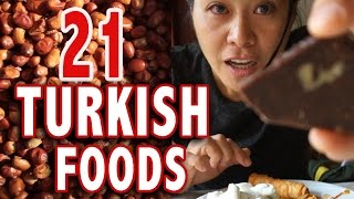 TOP 21 TURKISH FOODS | Istanbul Food Guide