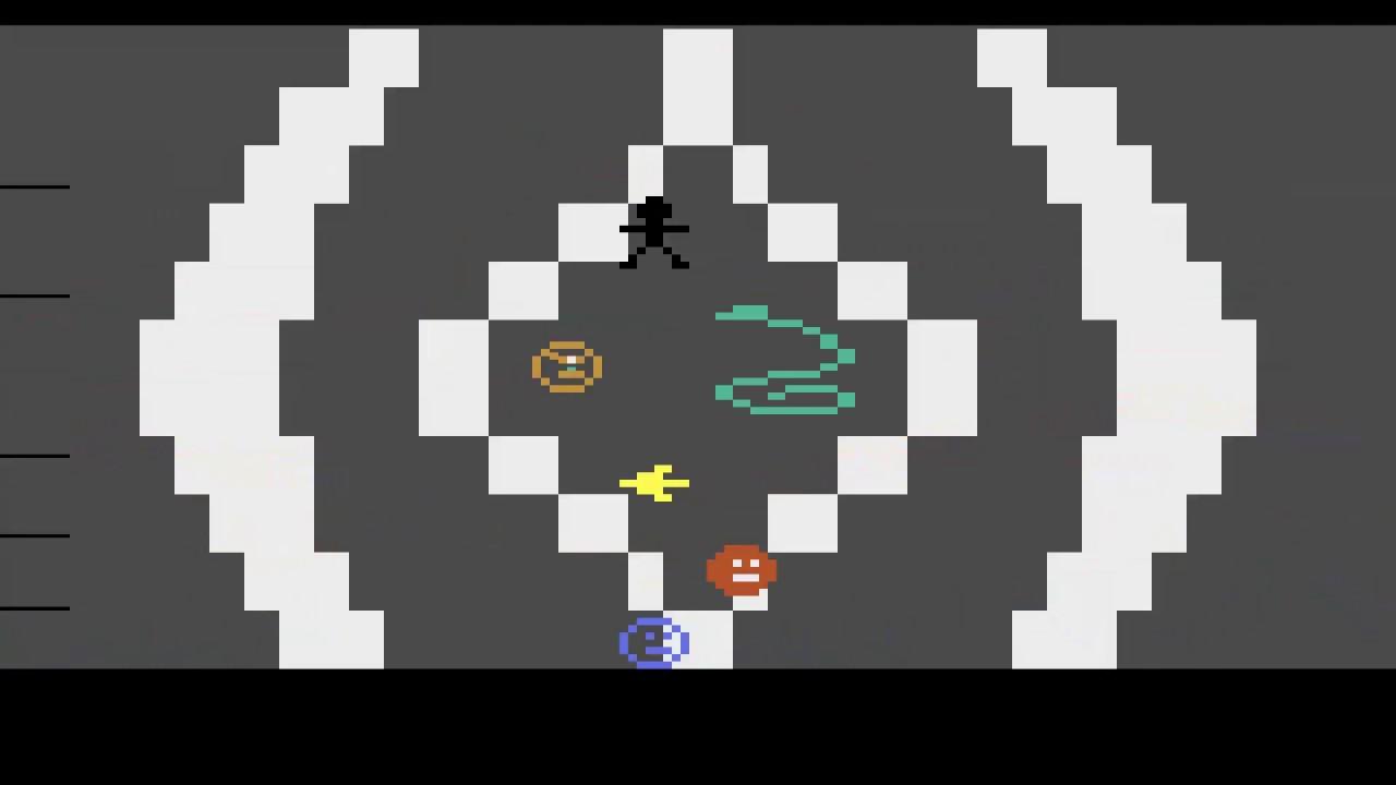Atari 2600 fake gravity platformer test (batari basic) youtube.