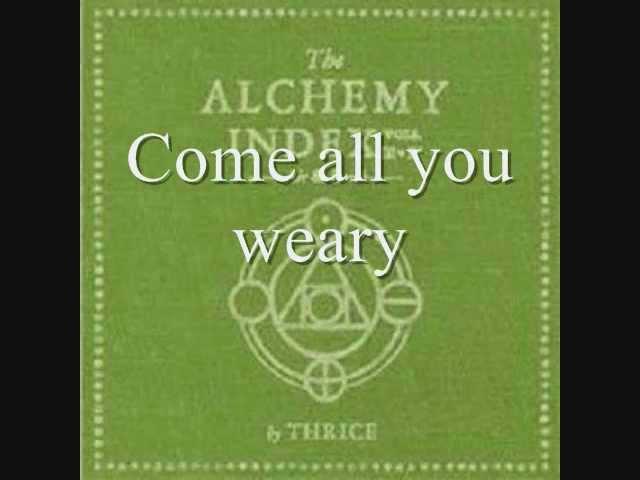 thrice-come-all-you-weary-lyrics-littleshyell