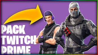 🔥DECOUVERTE VON SKINS TWITCH PRIME - WIE zu GET? FORTNITE BATTLE ROYALE