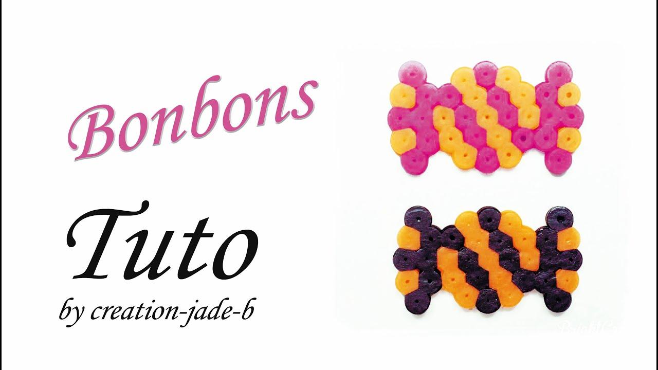 Tuto perles repasser hama halloween bonbons youtube - Comment fabriquer un sac a bonbon pour halloween ...
