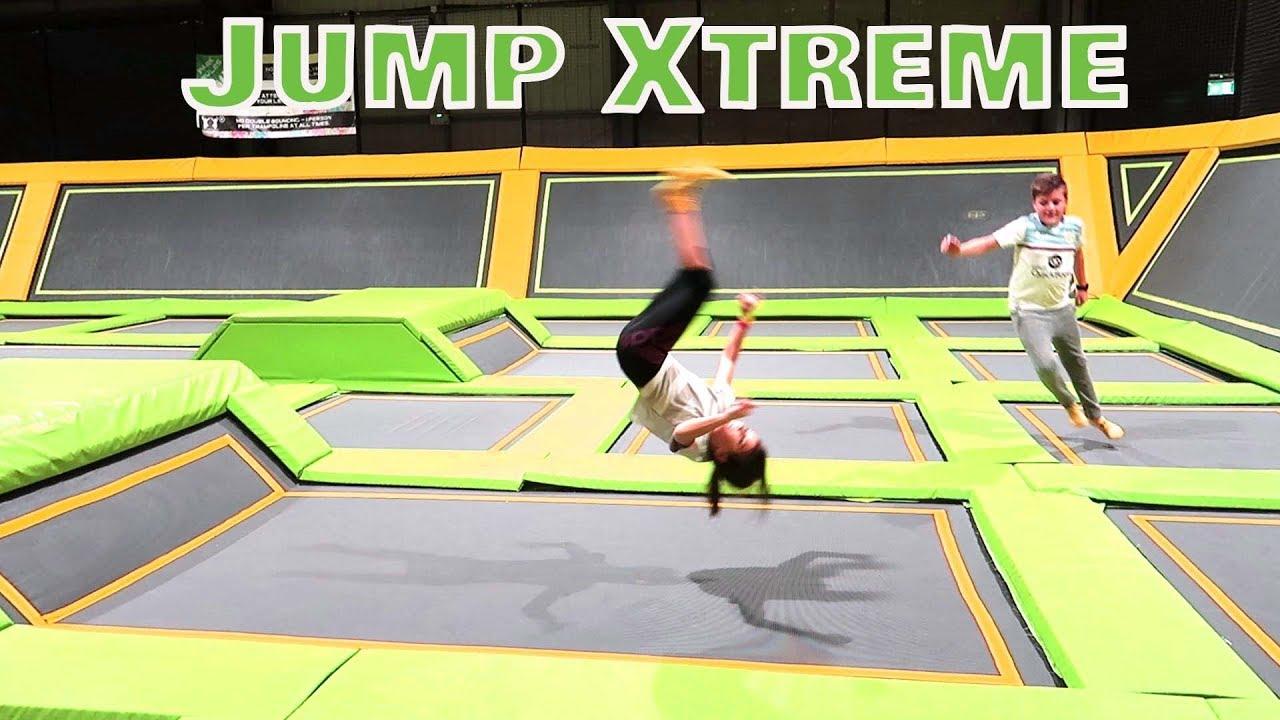 Jump Xtreme Trampoline Park Toys Fun Fam Youtube