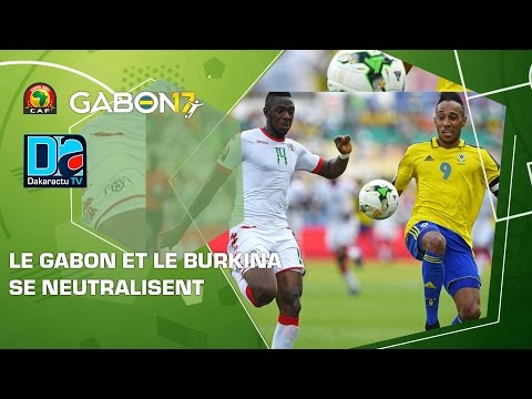CAN groupe A   Le Gabon et le Burkina  se neutralisent
