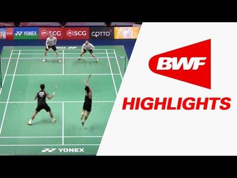 SCG Thailand Open 2017 | Badminton SF – Highlights