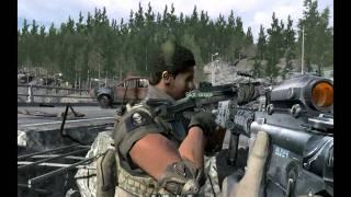 Прхождение Call of Duty 4 Modern Warfare: Действие 3 Игра окончена