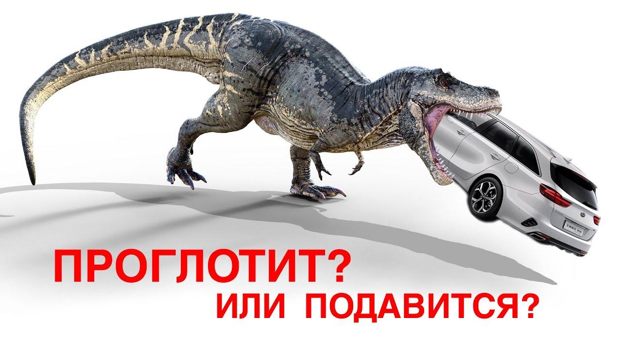 Проглотит или подавится? Тираннозавр Focus и Ceed. Что такое запчасть 710?