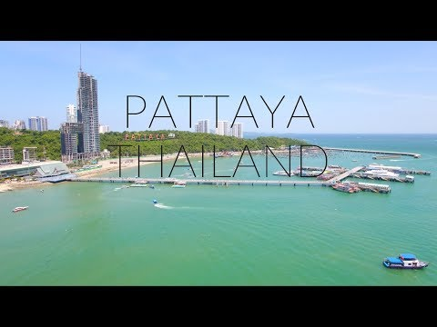 Pattaya Thailand 2017 by Drone 4K