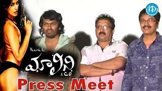 Poonam pandey - malini & co movie team press meet
