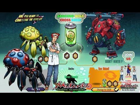Mutant: Genetic Gladiator - Arachno Gold Cross Breed by Mutant Genetic  Gladiator