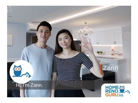 Dream Home of Danny & Zann - Albedo Design【HomeRenoGuru.sg】