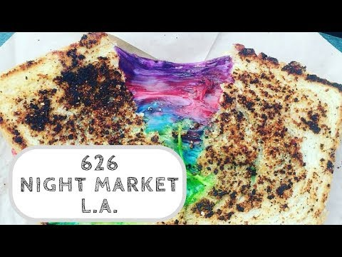 Crazy Food at the 626 Night Market - Los Angeles, CA