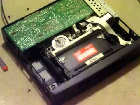 Philips VR151 VHS VCR - head cleaning - fejtisztítás