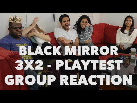 React Wheel: Black Mirror - 3x2 Playtest - Group Reaction! (New React Wheel Poll)