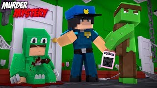 Minecraft MURDER MYSTERY???? - DOES TINY TURTLE POISON HIS TWIN BROTHER LITTLE LIZARD IN REAL LIFE??