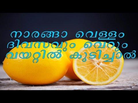 നാരങ്ങാ വെള്ളം ദിവസവും വെറും വയറ്റിൽ  കുടിച്ചാൽ /  Lemon Water  /-Malayalam Health Tips