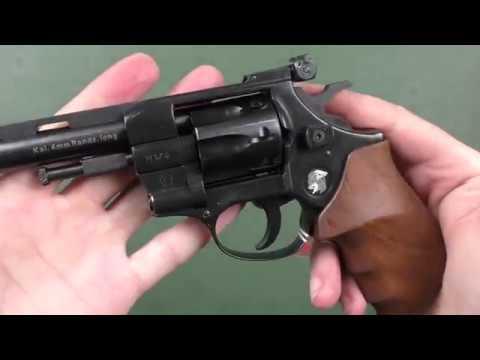 "Револьвер Weihrauch HW4 4"" з дерев'яною рукояттю"