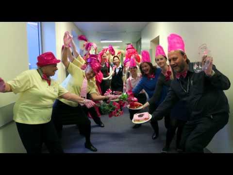 Medline Pink Glove Dance 2014 Sydney Adventist Hospital With Slates