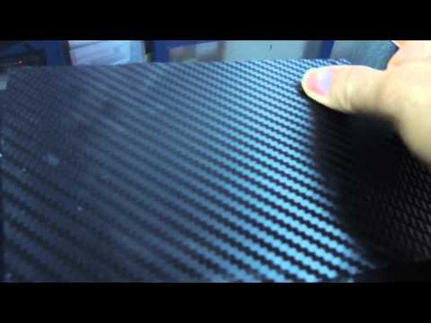 NEW 3D CARBON German technology Black - bubble Free vinyl . color black blue white silver