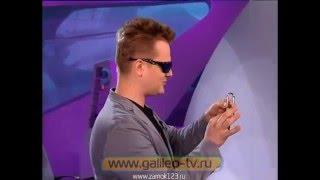 Галилео - открыть замок выстрелом (киноштампы)(Полная версия передачи в одном видео. Наглядно проверяется и показывается - может ли пуля, как в кино, повре..., 2015-12-21T10:44:31.000Z)