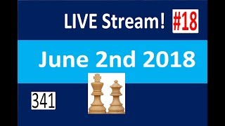 Chess to Impress LiveStream #18 on lichess.org