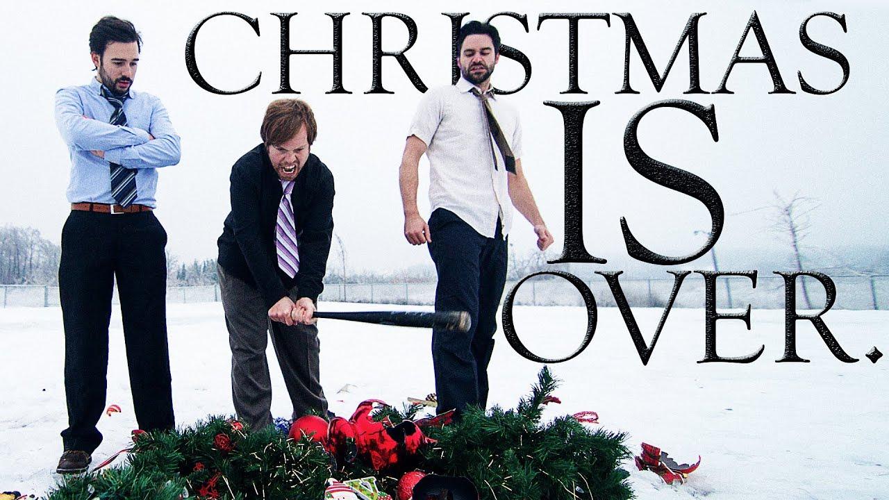 Christmas Is Over.Christmas Is Over