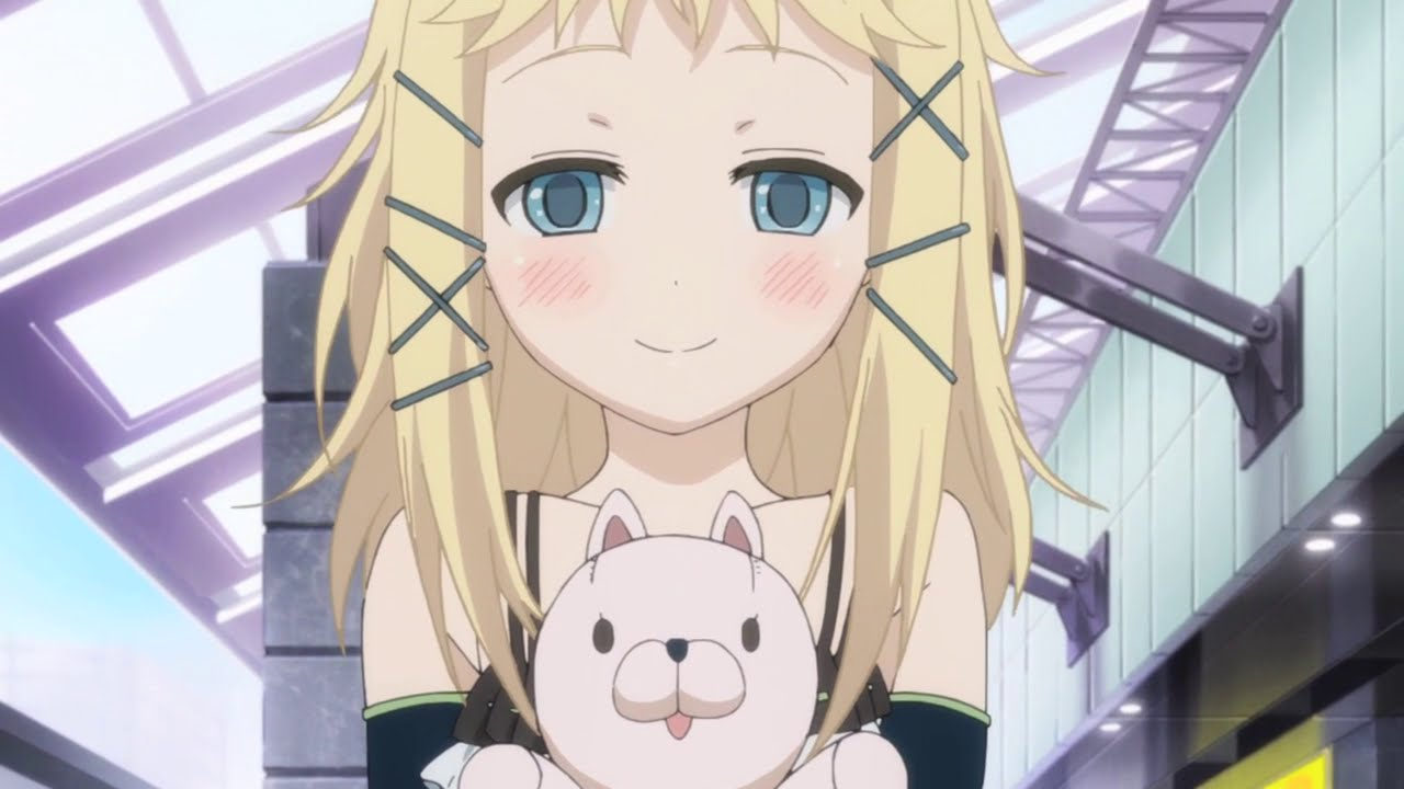 Cute Child Love Wallpaper Tina Sprout Character Appraisal Black Bullet Youtube