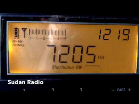 スーダンの短波放送(sudan radio) 2016.5.15