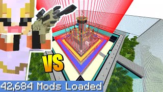 MINECRAFT *PRO* vs MOST *SECURE SAFE HOUSE*  (Largest Minecraft modpack)