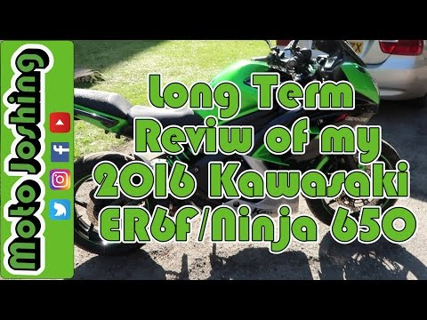 Long Term Review of my 2016 Kawasaki ER6F/Ninja 650