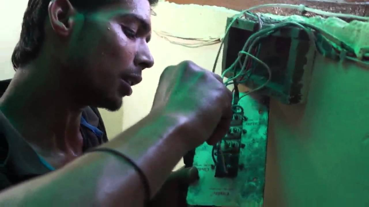 how to connect inverter wiring youtube rh youtube com home inverter wiring pdf home inverter wiring [ 1280 x 720 Pixel ]