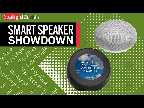 Google versus Amazon: Who has the smartest speaker for science? — Speaking of Chemistry Mp3