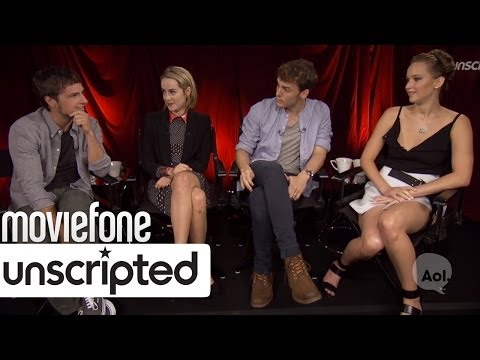 'Hunger Games: Catching Fire'  Unscripted  Jennifer Lawrence, Josh Hutcherson, Malone, Claflin