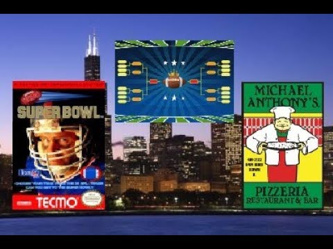 Tecmo Super Bowl - Bracket Play - Free to Play Cash Prize Tournament Michael Anthony's - 8/22/17