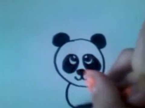 Cartoon Panda How To Draw 3 Youtube