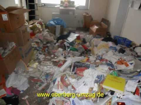 entr mpelung einer messiewohnung youtube. Black Bedroom Furniture Sets. Home Design Ideas