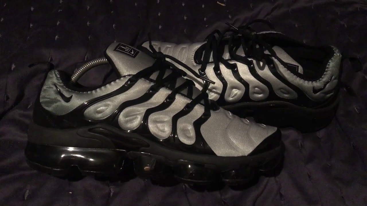 96b506c020c IOFFER VAPORMAX PLUS GREY BLACK!! REVIEW   GIVEAWAY   - YouTube