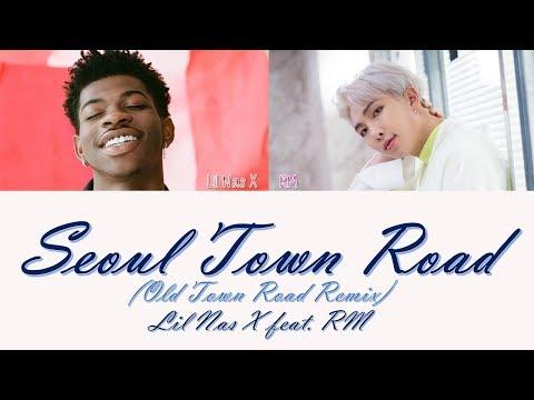 Lil Nas X - Seoul Town Road (Old Town Road Remix) Feat. RM  [Lyrics]
