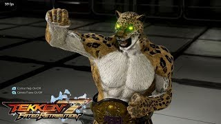 Tekken 7 (PS4) - King Full Character Customization (All Unlocked)