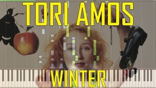 Tori Amos - Winter Piano Tutorial  - Chords - How To Play - Cover