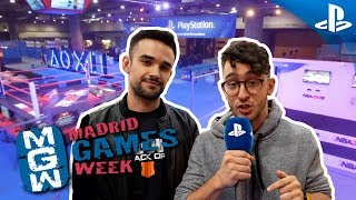 Lo MEJOR de PlayStation en Madrid Games Week 2018
