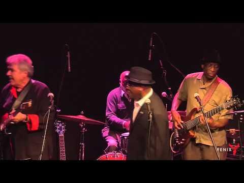 DW Edwards performs at the FENIX SUPPER CLUB, San Rafael, w Finex Band Jan 2015 mov Seg 1