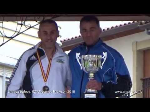 Entrega trofeos 62 Descenso rio Asón Ampuero Cantabria